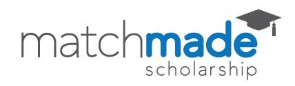 Match made Scholarship Logo
